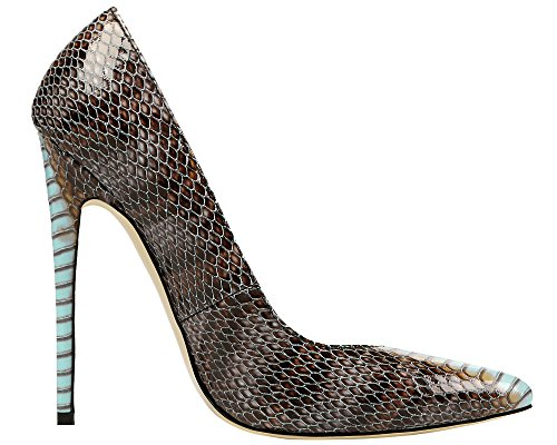 MONICOCO-Womens-Pointed-Toe-Snake-Print-Party-Pump-Shoes-Blue-11-M-US-0-2