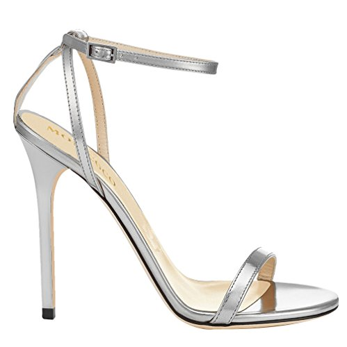MONICOCO-Womens-Shoes-Ankle-Strap-High-Heels-Dress-Sandals-Silver-105-M-US-0-0