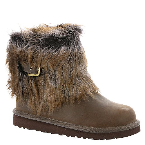 UGG-Big-Kids-Ellee-Leather-Boot-Chocolate-Size-2-M-US-Little-Kid-0