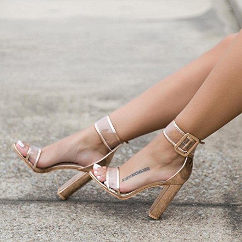 Womens-Sexy-Ankle-Strap-Sandal-Transparent-Open-Toe-Chunky-High-Heel-Shoes-US-12-Gold-0-0