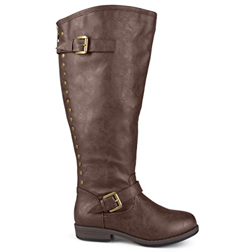 Brinley-Co-Womens-Durango-Wc-Riding-Boot-Brown-Wide-Calf-85-M-US-0
