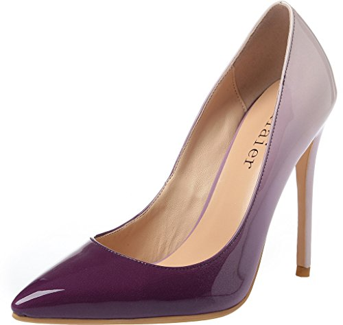 Calaier-Womens-15-Colors-US-Size-4-15-Stiletto-12CM-High-Heel-Dress-Party-Wedding-Office-Pumps-Shoes-Multicoloured-B-11-BM-US-0
