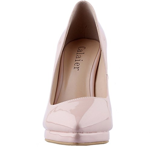 Calaier-Womens-Cakill-Sexy-Luxury-Designer-Wedding-Dress-Elegant-Office-High-Heel-Plus-Size-Pointed-Toe-115CM-Stiletto-Slip-on-Pumps-Shoes-Beige-5-BM-US-0-3