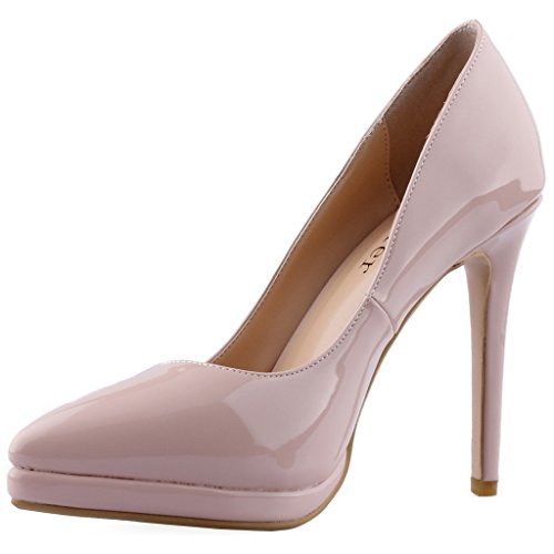 Calaier-Womens-Cakill-Sexy-Luxury-Designer-Wedding-Dress-Elegant-Office-High-Heel-Plus-Size-Pointed-Toe-115CM-Stiletto-Slip-on-Pumps-Shoes-Beige-5-BM-US-0
