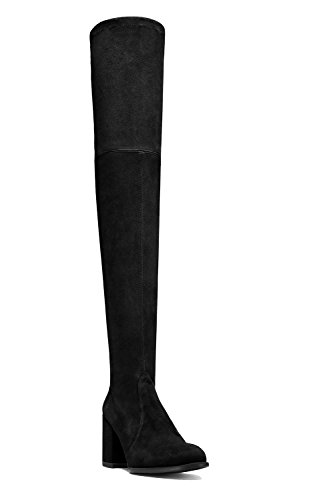 Guoar-Closed-toe-Microsuede-Square-Heel-Over-the-Knee-Thigh-High-Black-Boots-us7-0-0