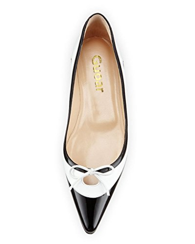 Guoar-Womens-Ballet-Flats-Big-Size-Ladies-Shoes-Multi-color-Pointed-Toe-Bowknot-Pumps-Shoes-Black-US-11-0-1