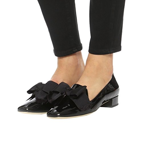 Guoar-Womens-Big-Size-Low-Heel-Pointed-Toe-PU-Patent-Ballet-Flat-Sandals-Pumps-for-Wedding-Party-Dress-Black-US12-0-2