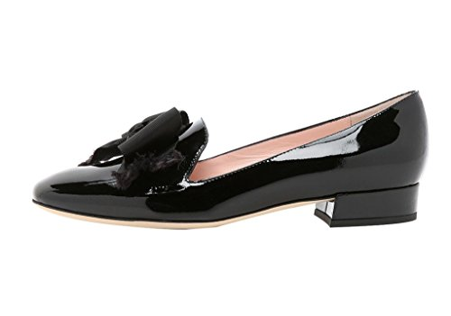 Guoar-Womens-Big-Size-Low-Heel-Pointed-Toe-PU-Patent-Ballet-Flat-Sandals-Pumps-for-Wedding-Party-Dress-Black-US12-0