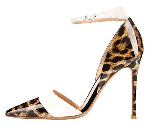 Guoar-Womens-Stiletto-Big-Size-Heel-Sandals-Pointed-Toe-Colourful-Patent-Pumps-for-Wedding-Party-Dress-Leopard-US10-0