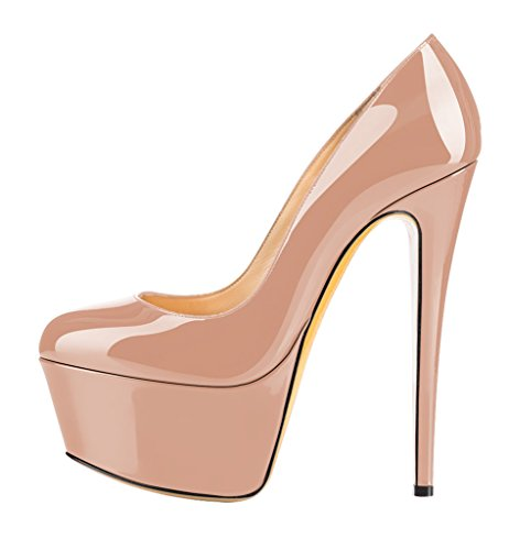 Guoar-Womens-Stiletto-Big-Size-High-Heels-Closed-Toe-Platform-Patent-Pumps-for-Wedding-Party-Dress-US9-0