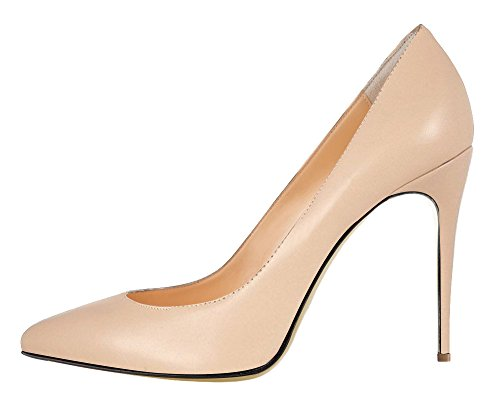 Guoar-Womens-Stiletto-Big-Size-Sandals-Court-Shoes-Pointed-Toe-PU-Pumps-for-Wedding-Party-Dress-Nude-US8-0