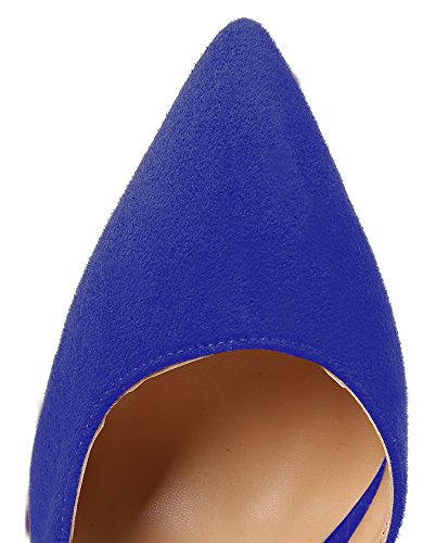 Guoar-Womens-Stiletto-Heels-Sandals-Big-Size-Shoes-Pointed-Toe-DOrsayTwo-Piece-Pumps-for-Wedding-Party-Dress-Blue-US8-0-3