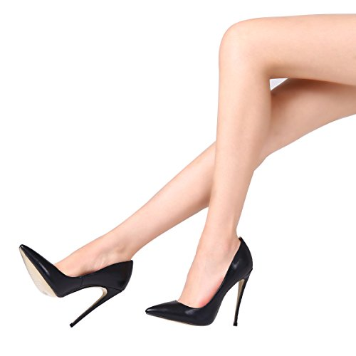 Guoar-womens-Pointed-Toe-High-Heels-Black-Soft-Leather-Pumps-Shoes-for-Party-Banquet-Shoes-size-5-12-US-8-0-3
