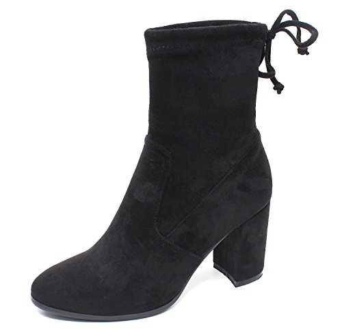 Guoar-Women-Round-Toe-Block-Heels-Pull-On-Ankle-Booties-0