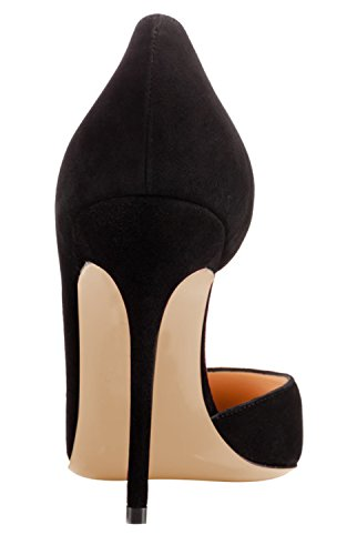Guoar-Womens-Pointy-Toe-Stiletto-High-Heesl-DOrsay-Pumps-Party-Wedding-Prom-Dress-Shoes-size-5-12-Black-Suede-US-12-0-2