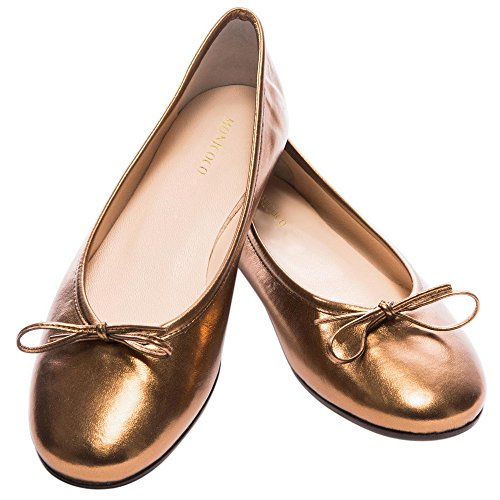 MONICOCO-Womens-Ballet-Flats-Shoes-Plus-Size-Bowknot-Casual-Basic-Round-Toe-Patent-Pump-0-0