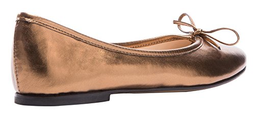 MONICOCO-Womens-Ballet-Flats-Shoes-Plus-Size-Bowknot-Casual-Basic-Round-Toe-Patent-Pump-0-2