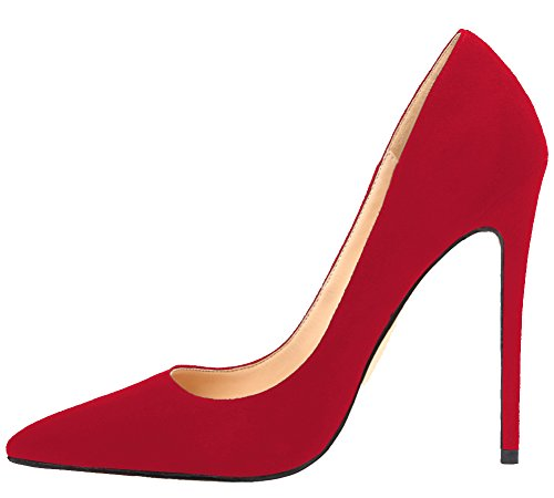 MONICOCO-Womens-Stiletto-Heel-Plus-Size-Pumps-Shoes-Pointed-Toe-Pump-for-Wedding-Party-Dress-Red-Suede-8-US-0