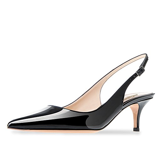 Modemoven-Womens-Black-Patent-Leather-Pointed-Toe-Slingback-Ankle-Strap-Kitten-Heels-Pumps-Evening-Stiletto-Shoes-10-M-US-0