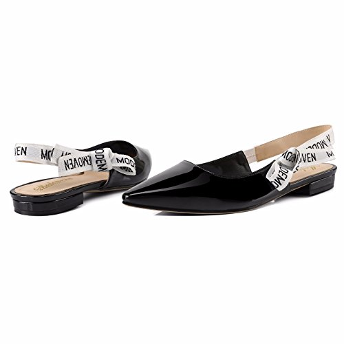 Modemoven-Womens-Black-Patent-Leather-Sling-back-Ballet-PumpsFlat-Shoes-for-WomenSlip-On-LoafersSexy-Mules-5-M-US-0-4