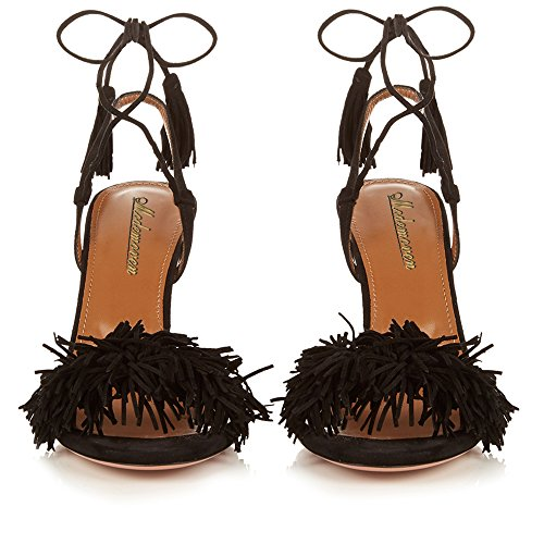 Modemoven-Womens-Black-Suede-Fringe-Open-Toe-Heeled-Sandals-Self-Tie-Straps-Tassel-High-Heels-Stilettos-Shoes-9-M-US-0-2