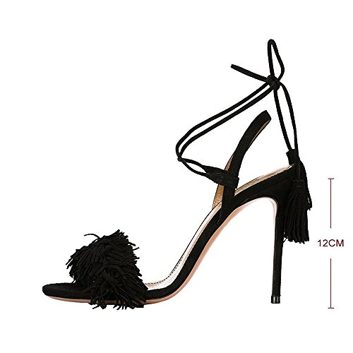 Modemoven-Womens-Black-Suede-Fringe-Open-Toe-Heeled-Sandals-Self-Tie-Straps-Tassel-High-Heels-Stilettos-Shoes-9-M-US-0-3