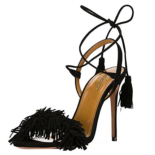 Modemoven-Womens-Black-Suede-Fringe-Open-Toe-Heeled-Sandals-Self-Tie-Straps-Tassel-High-Heels-Stilettos-Shoes-9-M-US-0