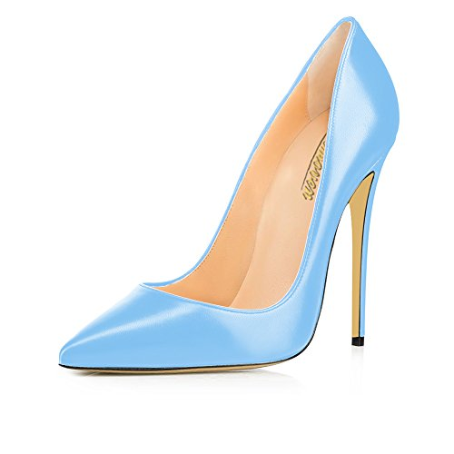 Modemoven-Womens-Light-Blue-Sexy-Pointed-Toe-High-HeelsGorgeous-Faux-Leather-PumpsPlus-Size-Stilettos-Wedding-Party-Shoes-14-M-US-0