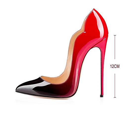 Modemoven-Womens-Sexy-Point-Toe-High-HeelsPatent-Leather-PumpsWedding-Dress-ShoesCute-Evening-Stilettos-Red-and-Black-75-M-US-0-2