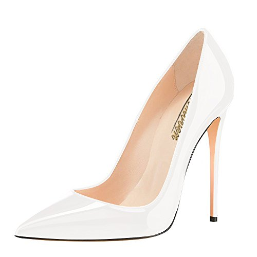 Modemoven-Womens-White-Pointy-Toe-High-Heels-Slip-On-Stilettos-Large-Size-Wedding-Party-Evening-Pumps-Shoes-95-M-US-0