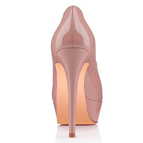 Women-Fashion-Closed-Toe-Platform-High-Heel-Stiletto-Patent-Leather-Dress-Pumps-Dark-Nude-Size-15-0-2
