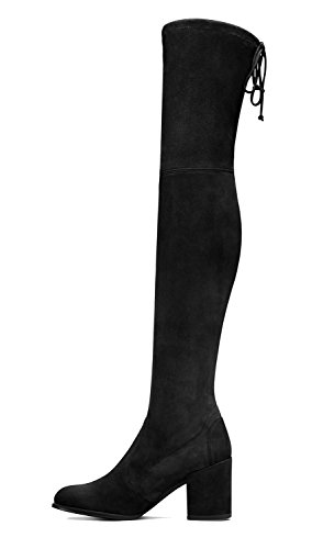 Guoar-Closed-toe-Microsuede-Square-Heel-Over-the-Knee-Thigh-High-Black-Boots-us6-0