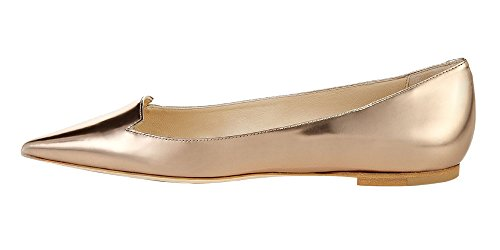 Guoar-Womens-Ballet-Flats-Big-Size-Sandals-Ladies-Shoes-Solid-Pointed-Toe-Bling-Pumps-for-Wedding-Party-Dress-Gold-US-8-0