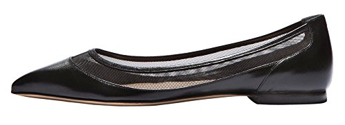 Guoar-Womens-Ballet-Flats-Big-Size-Sandals-Ladies-Shoes-Solid-Pointed-Toe-Mesh-Pumps-for-Wedding-Party-Dress-Black-US-13-0