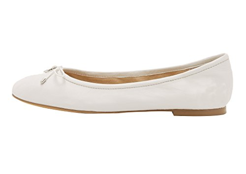 Guoar-Womens-Bowknot-Round-Toe-Comfort-Ballet-Flats-Shoes-Casual-No-Heels-Pumps-White-US13-0