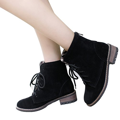 New Womens Low Heel Plus Size New Vintage College Comfort Dress Lace Up Oxford Shoe | EBay