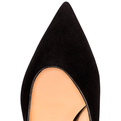 Guoar-Womens-Pointed-Toe-High-Heels-Stiletto-Slingback-Pumps-Evening-Shoes-size-5-12-Black-US-5-0-2