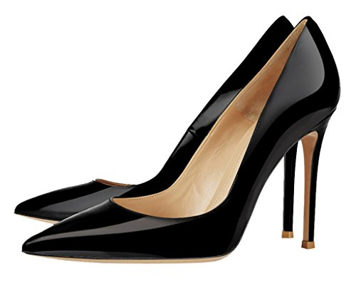 Guoar-Womens-Stiletto-Big-Size-Sandals-Solid-Shoes-Pointed-Toe-Ladies-Patent-Pumps-for-Wedding-Party-Dress-Black-US-14-0-1