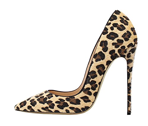 Guoar-Womens-Stiletto-Big-Size-Shoes-Pointed-Toe-Patent-Ladies-Solid-Pumps-for-Work-Place-Dress-Party-Leopard-suede-US9-0
