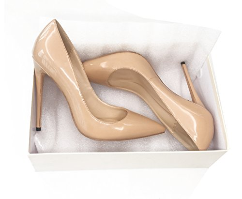 Guoar-Womens-Stiletto-Big-Size-Shoes-Pointed-Toe-Patent-Ladies-Solid-Pumps-for-Work-Place-Dress-Party-Nude-US9-0-3