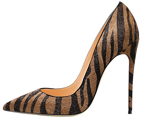 Guoar-Womens-Stiletto-Big-Size-Shoes-Pointed-Toe-Patent-Ladies-Solid-Pumps-for-Work-Place-Dress-Party-Zebra-Brown-US9-0