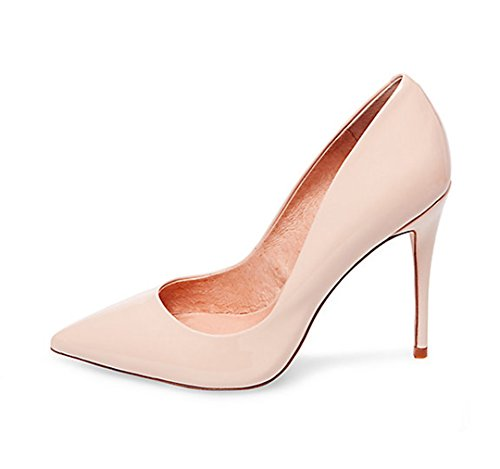 Guoar-Womens-Stiletto-Heel-Plus-Size-Solid-Shoes-Pointed-Toe-Patent-Pumps-for-Wedding-Party-Dress-Nude-US6-0