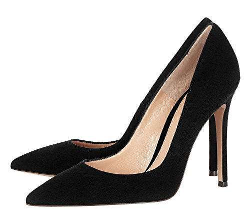 Guoar-Womens-Stiletto-Heel-Sandals-Big-Size-Solid-Shoes-Pointed-Toe-Suede-Pump-for-Wedding-Party-Dress-Black-US13-0-0