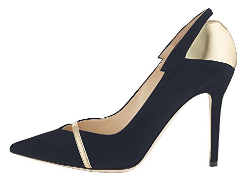 Guoar-Womens-Stiletto-Heel-Sandals-Shoes-Plus-Size-Punk-Sequin-Patchwork-Pointed-Toe-Suede-Pumps-for-Wedding-Party-Dress-Gold-and-Black-US8-0