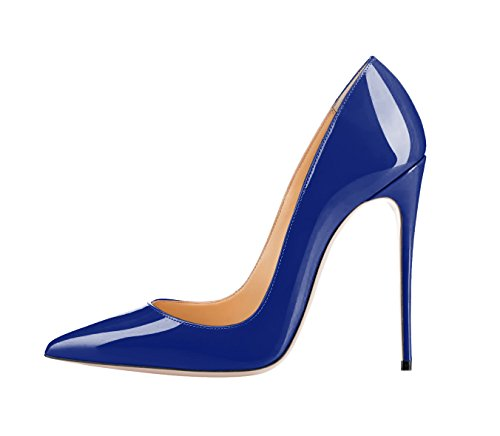 Guoar-womens-Pointed-Toe-High-Heels-Royalblue-Patent-leather-Pumps-Shoes-for-Party-Banquet-Shoes-size-5-12-US-105-0