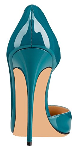 MONICOCO-Womens-High-Spike-Heel-Cut-Out-DOrsay-Pointed-Toe-Dress-Pump-for-Party-Wedding-Teal-11-BM-US-0-1