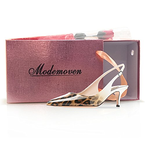 Modemoven-Womens-Leopard-White-Patent-Leather-Pointed-Toe-Slingback-Ankle-Strap-Kitten-Heels-Pumps-Evening-Stiletto-Shoes-9-M-US-0-5