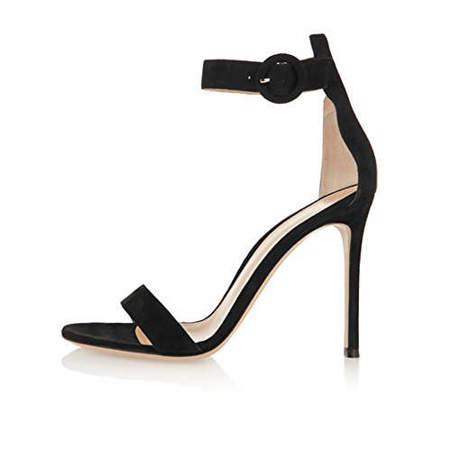 Soireelady-Womens-High-Heel-Sandals-Ankle-Strap-10CM-Stilettos-Open-Toe-Heeled-Sandal-for-Wedding-Party-Black-US8-0