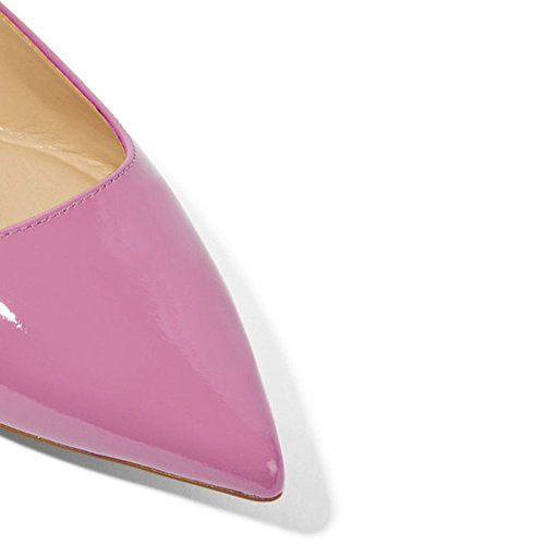 UMEXI-Classic-Pointed-Toe-Ballet-Flat-Slip-On-Patent-Leather-Shoes-for-Women-Purple-Size-6-0-0