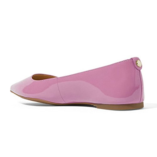 UMEXI-Classic-Pointed-Toe-Ballet-Flat-Slip-On-Patent-Leather-Shoes-for-Women-Purple-Size-6-0-2
